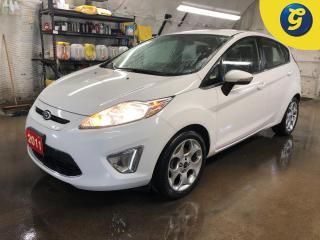 Used 2011 Ford Fiesta SES * Power sunroof * Leather * Heated mirrors * Heated front seats * Passive entry * Keyless entry * Phone connect * Hands free steering wheel contro for sale in Cambridge, ON