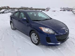 Used 2012 Mazda MAZDA3 GX for sale in Pintendre, QC