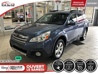 Used 2014 Subaru Outback 2.5i *LIMITED *CVT *BLUETOOTH *A/C for sale in Québec, QC