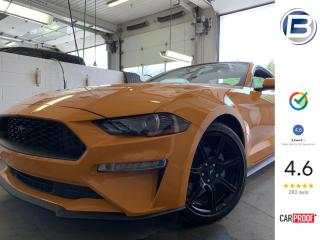Used 2018 Ford Mustang BLACK PACK EDITION | CAMÉRA | CUIR for sale in St-Hyacinthe, QC