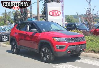 Used 2018 Jeep Compass Trailhawk w/Bluetooth & Remote Start System for sale in Courtenay, BC