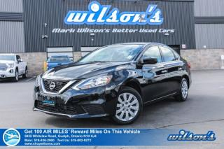 Used 2017 Nissan Sentra S - Bluetooth, Cruise Control, Power Package, Steering Radio Controls and more! for sale in Guelph, ON