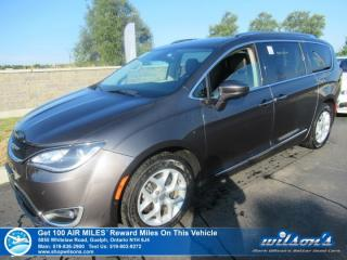 Used 2017 Chrysler Pacifica Touring-L Plus with NEW TIRES! Leather, Sunroof, Navigation, DVD, 360 Camera, Stow'n'Go, & more! for sale in Guelph, ON