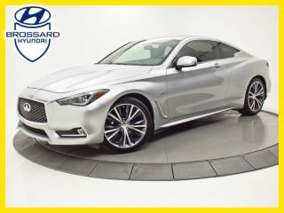 Used 2017 Infiniti Q60 AWD TOIT 3.0T GPS CUIR for sale in Brossard, QC