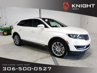 Used 2017 Lincoln MKX Reserve for sale in Moose Jaw, SK