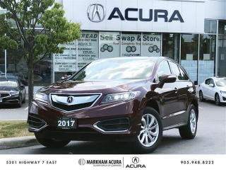 Used 2017 Acura RDX Tech at Navi, Backup Cam, Lthr, Sunroof for sale in Markham, ON