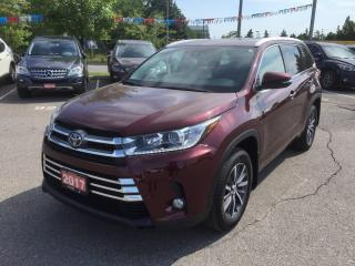 Used 2017 Toyota Highlander HYBRID XLE for sale in Brampton, ON