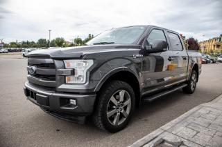 Used 2017 Ford F-150 Lariat Accident free, 3.5L Ecoboost, Max Trailer Tow, Navigation, Moonroof, Tailgate Step, FX4, S for sale in Okotoks, AB