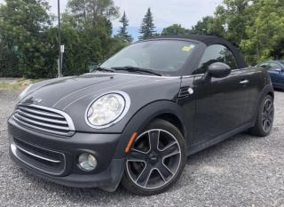 Used 2014 MINI Cooper Roadster Cooper Roadster Convertible! Auto with Heated Leather and more! for sale in Kemptville, ON