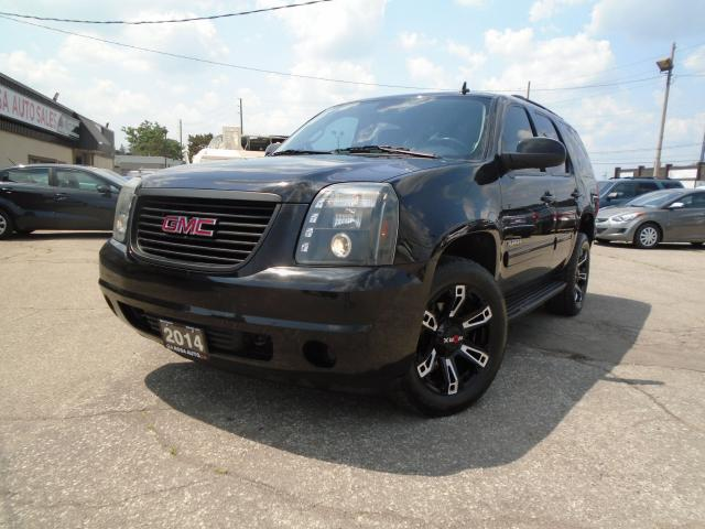 2014 GMC Yukon 4x4 9PASSENGERS  LEATHER B-CAM USB NO ACCIDENT A/C