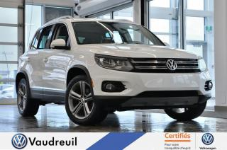 Used 2017 Volkswagen Tiguan Highline * 18 POUCES * FENDER for sale in Vaudreuil-Dorion, QC