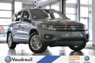 Used 2015 Volkswagen Tiguan Special Edition * 17 POUCES * CAM RECUL for sale in Vaudreuil-Dorion, QC