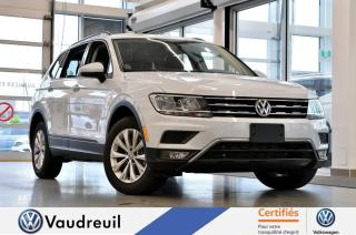 Used 2018 Volkswagen Tiguan for sale in Vaudreuil-Dorion, QC