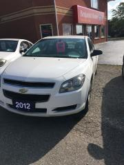 Used 2012 Chevrolet Malibu LS Clean 4 cylinder sedan for sale in Bradford, ON