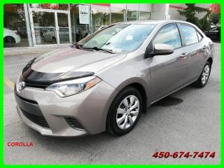 Used 2016 Toyota Corolla **BAS KILOMÉTRAGE** for sale in Longueuil, QC