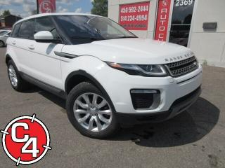 Used 2017 Land Rover Evoque SE SI4  NAVI CUIR TOIT PANO MAG for sale in St-Jérôme, QC