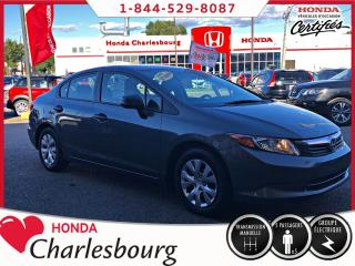 Used 2012 Honda Civic DX **AUCUN ACCIDENT** for sale in Charlesbourg, QC