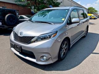 Used 2017 Toyota Sienna 5DR SE 8-PASS FWD for sale in North York, ON