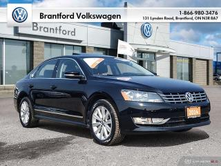 Used 2014 Volkswagen Passat Highline 2.0 TDI 6sp DSG at w/ Tip for sale in Brantford, ON