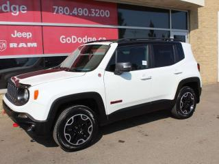 Used 2016 Jeep Renegade Trailhawk / GPS Navigation / Back Up Camera for sale in Edmonton, AB