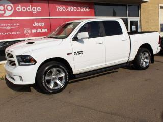Used 2015 RAM 1500 Sport 4x4 Crew Cab / Back Up Camera for sale in Edmonton, AB