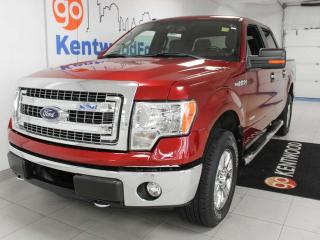 Used 2013 Ford F-150 XLT XTR4x4 ecoboost with power drivers seat, 6 seats and keyless entry for sale in Edmonton, AB