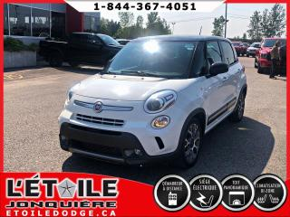 Used 2014 Fiat 500 L TREKKING, CAMERA DE RECUL, CLIMATISATION for sale in Jonquière, QC