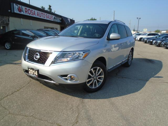 2014 Nissan Pathfinder 4WD  SL NAVIGATION LEATHER DVD B-TOOTH NO ACCIDENT