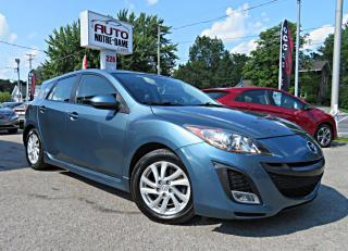 Used 2011 Mazda MAZDA3 GS SPORT CUIR TOIT OUVRANT A/C BLUETHOOT for sale in Repentigny, QC