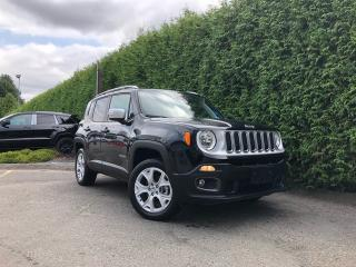Used 2018 Jeep Renegade Limited 4dr 4WD Sport Utility for sale in Surrey, BC