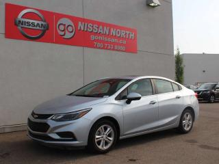 Used 2017 Chevrolet Cruze LT/ONE OWNER/LOW KM/SUNROOF/PUSH START/HEATED SEATS for sale in Edmonton, AB