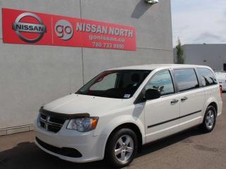 Used 2012 Dodge Grand Caravan SE / CRUISE CONTROL / AUX INPUT / 7 PASSENGER for sale in Edmonton, AB