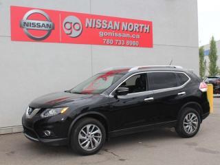 Used 2015 Nissan Rogue SL AWD / SUNROOF/ NAV for sale in Edmonton, AB
