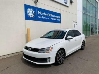 Used 2012 Volkswagen Jetta GLI 2.0 TURBO DSG - LEATHER / NAVI for sale in Edmonton, AB