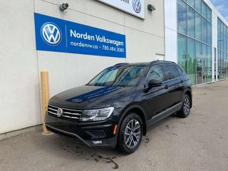 Used 2019 Volkswagen Tiguan COMFORTLINE for sale in Edmonton, AB