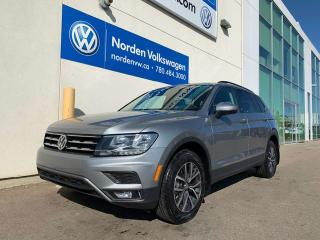 Used 2019 Volkswagen Tiguan *DEALER DEMO* COMFORTLINE 4MOTION AWD - SUNROOF / NAVI for sale in Edmonton, AB