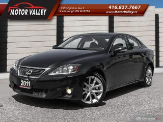 Used 2011 Lexus IS 250 AWD NAV-B.UP CAM LOADED! for sale in Scarborough, ON