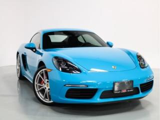 Used 2017 Porsche 718 Cayman S   WARRANTY   SPORTS CHRONO   COOLED SEATS for sale in Vaughan, ON