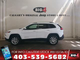 Used 2016 Jeep Cherokee Limited | Leather | V6 |NAV | Tow Pkg for sale in Calgary, AB