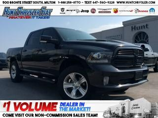 Used 2016 RAM 1500 SPORT | LEATHER | CONV | RMT STRT | SUN | NAV!!! for sale in Milton, ON