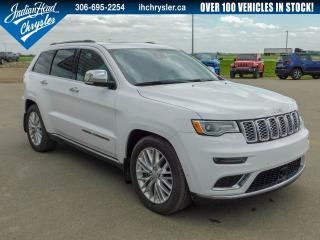 Used 2017 Jeep Grand Cherokee Summit 4x4   Nav   Leather   Sunroof for sale in Indian Head, SK