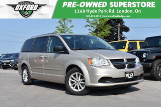 Used 2013 Dodge Grand Caravan SE/SXT - One Owner, Roof Rack, Well Maintained for sale in London, ON