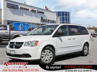 Used 2017 Dodge Grand Caravan SXT - Stow n Go, Navigation for sale in Etobicoke, ON
