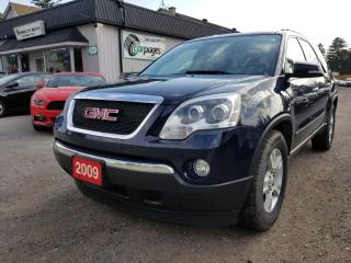 Used 2009 GMC Acadia SLT-1 AWD 2009 GMC Acadia SLT-1 AWD for sale in Bloomingdale, ON