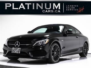 Used 2018 Mercedes-Benz C-Class C43 4MATIC COUPE, AMG, NAVI, PREMIUM, RED LTHR for sale in Toronto, ON
