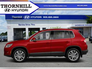 Used 2010 Volkswagen Tiguan CMFTLN 4MTN for sale in Thornhill, ON