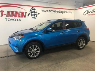 Used 2017 Toyota RAV4 Limited, NAVIGATION, HYBRIDE for sale in St-Hubert, QC