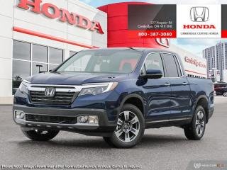 Used 2019 Honda Ridgeline Touring TOURING for sale in Cambridge, ON