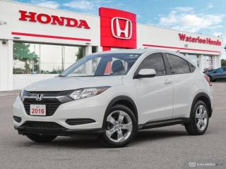 Used 2016 Honda HR-V LX Sold Pending Customer Pick Up...Reverse Assist Camera, Bluetooth and More! for sale in Waterloo, ON