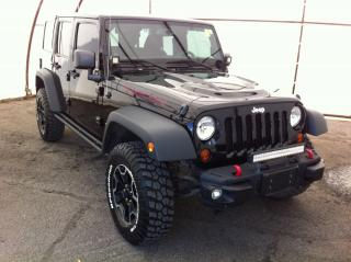 Used 2013 Jeep Wrangler Unlimited Rubicon RUBICON 10TH ANNIVERSARY EDITION, NAVIGATION, CONNECTIVITY GROUP, AUTO CLIMATE CONTROL, 6.5 TOUCHSCR for sale in Ottawa, ON